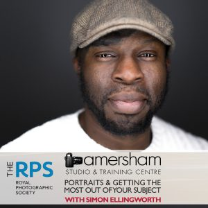The Royal Photographic Society: Portrait Photography and Getting the Most From Your Subject at Amersham Studios