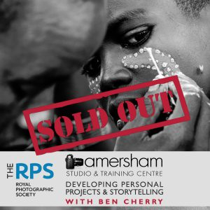 RPS - Royal Photographic Society workshop with Ben Cherry to help you develop narrative