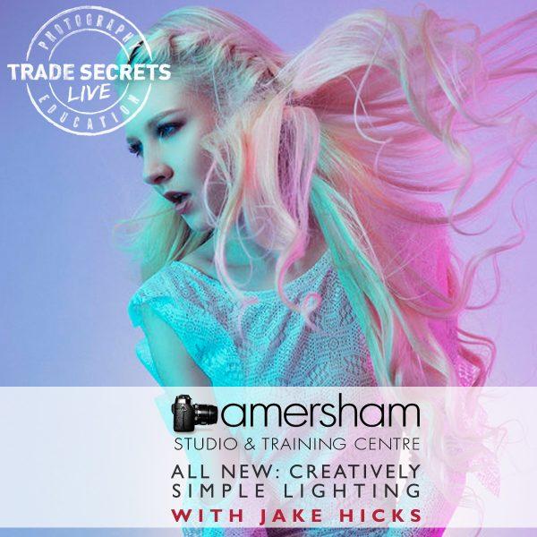 CREATIVELY SIMPLE LIGHTING with JAKE HICKS at Amersham Studios