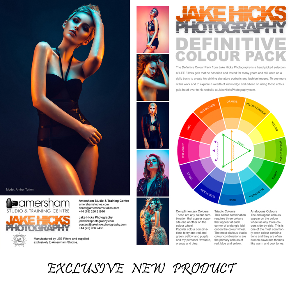 Our Exclusive Jake Hicks / Lee Filters Definitive Colour Gel Pack