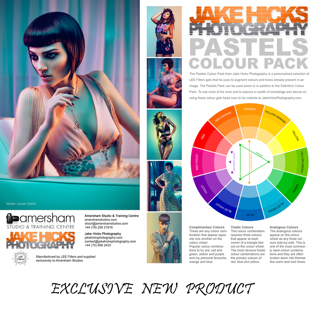Our Exclusive Jake Hicks / Lee Filters Pastel Colour Gel Pack